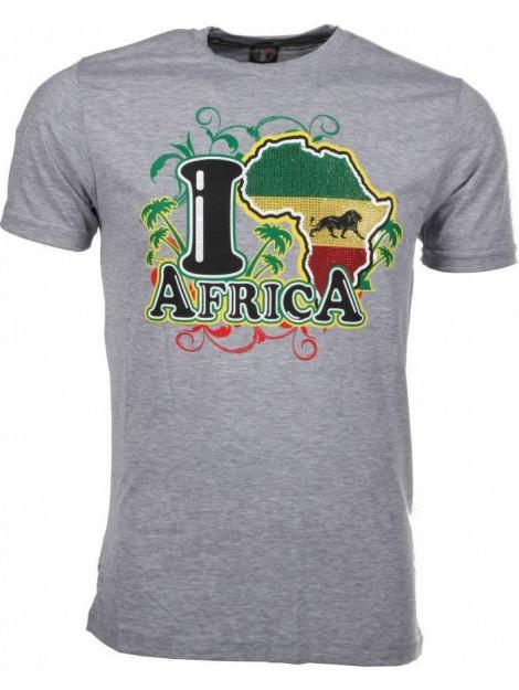 Local Fanatic T-shirt i love africa M/T-ILA-G large
