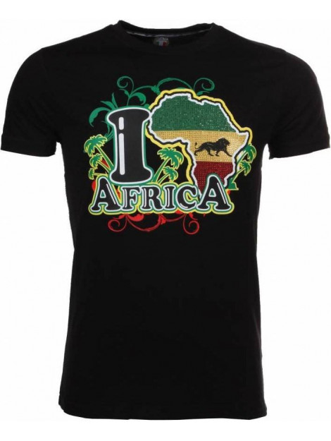Local Fanatic T-shirt i love africa M/T-ILA-Z large
