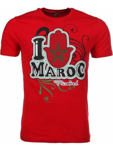 Local Fanatic T-shirt i love maroc M/T-ILM-R large