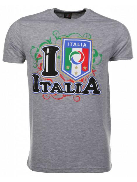 Local Fanatic T-shirt i love italia M/T-ILI-G large