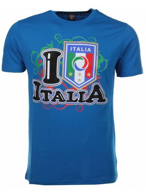 Local Fanatic T-shirt i love italia M/T-ILA-B large