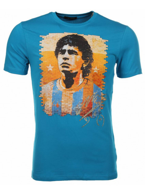 Local Fanatic T-shirt football player M/T-FP-B large
