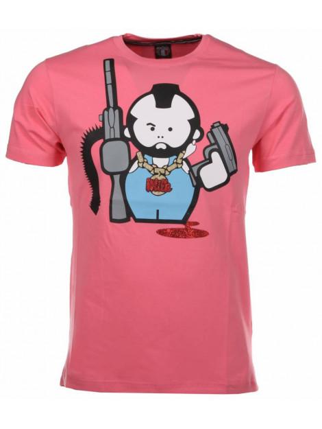 Local Fanatic T-shirt human gun M/T-HG-R large