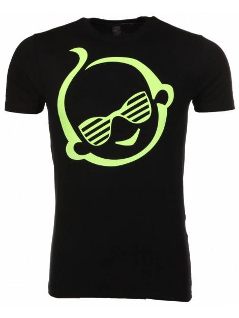 Local Fanatic T-shirt zsal zwart 2002Z large