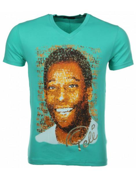 Local Fanatic T-shirt pele groen 7293GR large