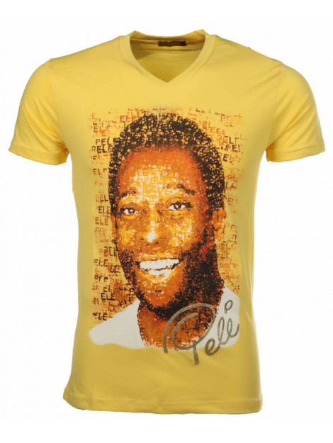 Local Fanatic T-shirt pele geel 7293GE large