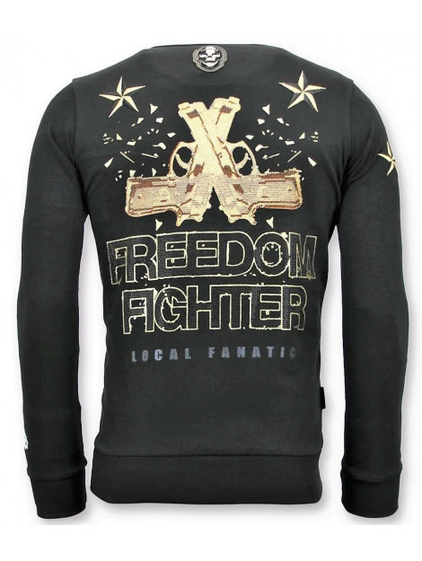 Local Fanatic Sweater the rebel 11-6392Z large