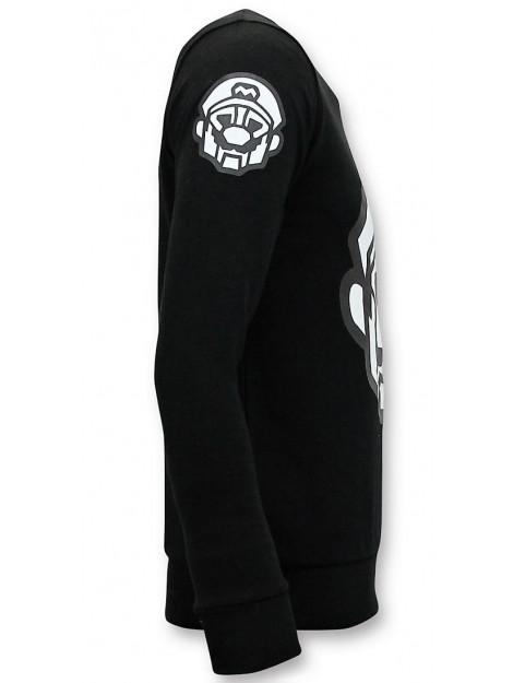 Local Fanatic Sweater mario 11-6408Z large
