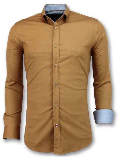 Tony Backer E overhemden slim fit 3033 large