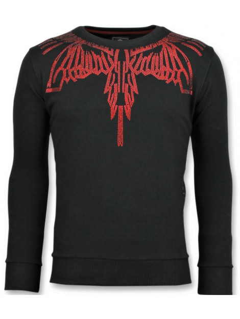 Local Fanatic Eagle glitter merk sweater 11-6340Z large