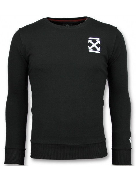Local Fanatic Off cross sweater 11-6356Z large