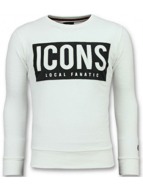Local Fanatic Icons block coole sweater 11-6355W large