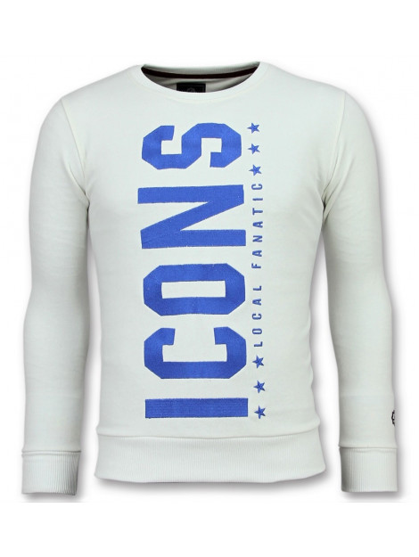 Local Fanatic Icons vertical coole sweater 11-6353W large