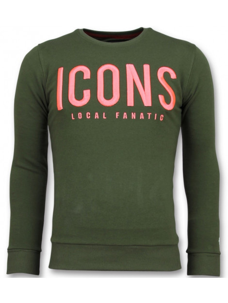 Local Fanatic Icons merk sweater 11-6349G large