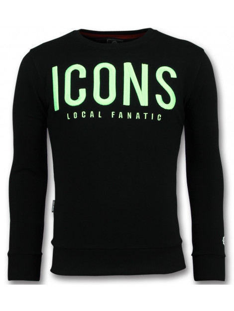 Local Fanatic Icons leuke sweater 11-6349Z large