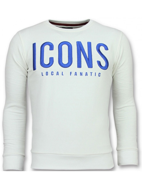 Local Fanatic Icons leuke sweater 11-6349W large
