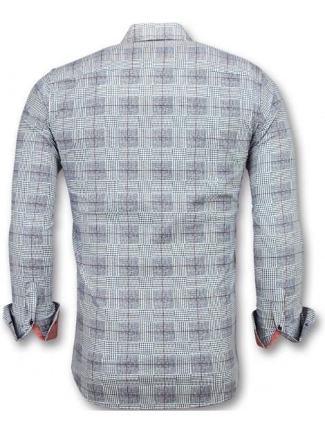 Tony Backer Overhemden lange mouw e 3006 large