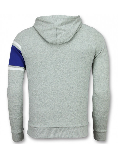 Enos Trui met capuchon grijze hoodie F-7516 large