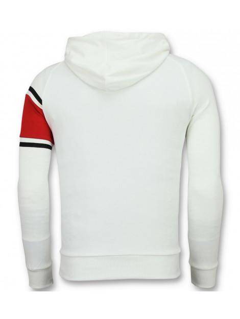 Enos Trui met capuchon witte hoodie F-7516 large