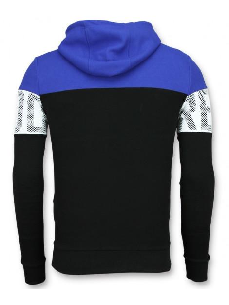 Enos Striped hooded sweat-shirt hoodies online F-563BZ large