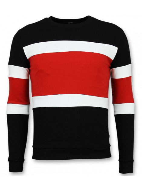 Enos Striped sweater mens truien F-7662RZ large