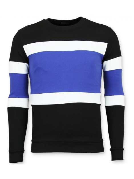 Enos Striped sweater mens sweater F-7662GZ large