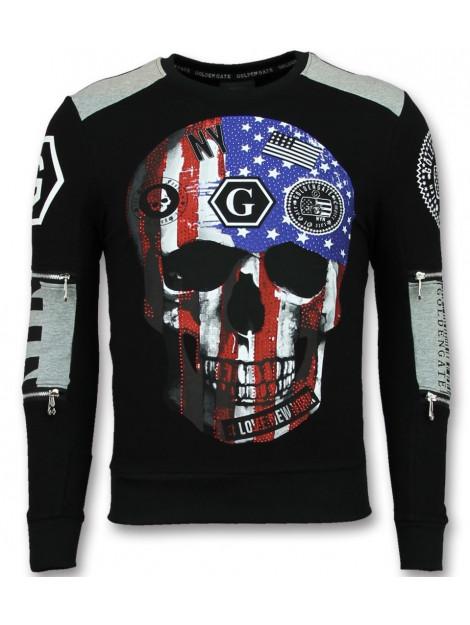 Enos Sweat-shirt skull trui F-583Z large