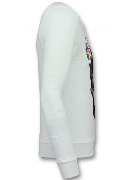 Enos Sweater doodskop trui F-590W large