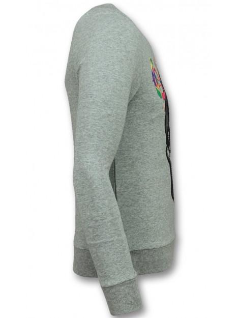 Enos Trui doodskop sweater F-590G large