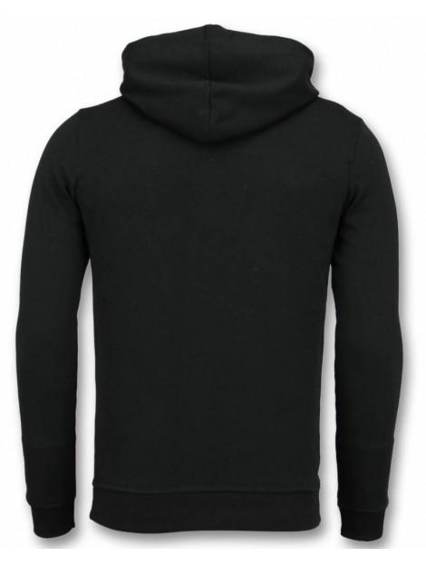 Tony Backer Flockprint hoodie peace hoodie UP-G030Z large