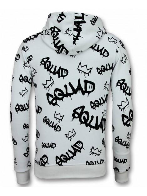Tony Backer Flockprint hoodie squrd hoodie UY-315W large