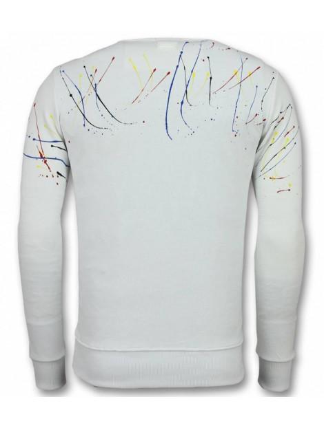 Tony Backer Paint drop trui icons sweater SW-2W large