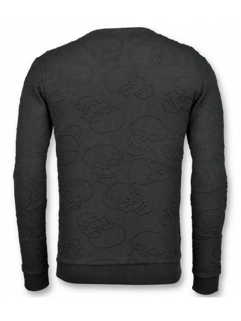 Tony Backer Skull print trui death's head sweater UY-301Z large