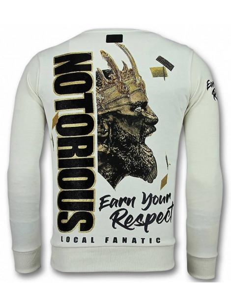 Local Fanatic Notorious trui king mcgregor sweater 11-6300W large