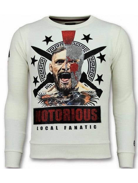 Local Fanatic Notorious trui mcgregor warrior sweater 11-6296W large