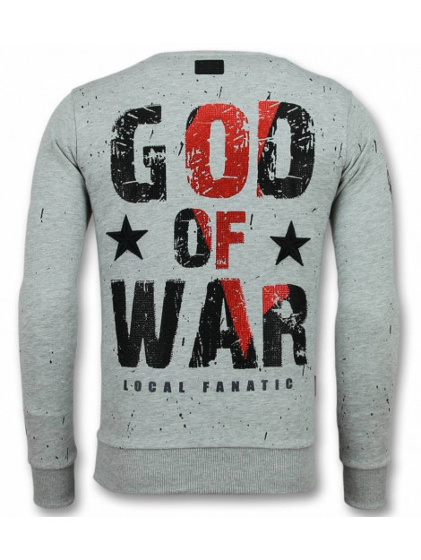 Local Fanatic Skull trui god of war sweater 11-6301G large