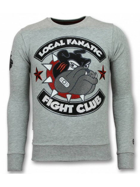 Local Fanatic Fight club trui bulldog sweater 11-6299G large