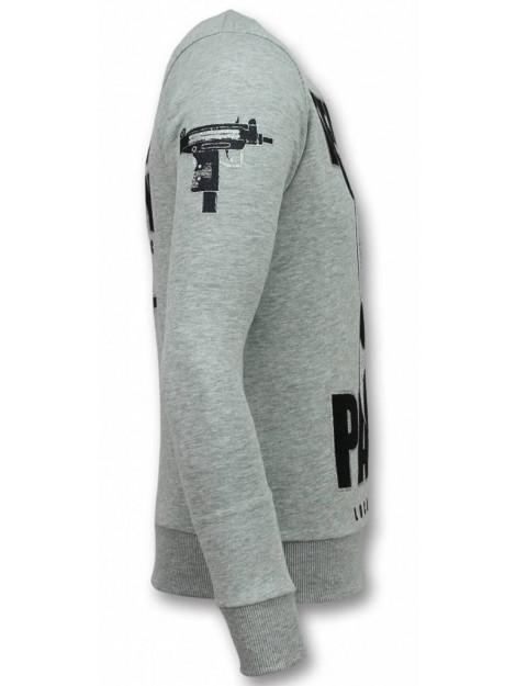 Local Fanatic Panda trui terror sweater 11-6303G large