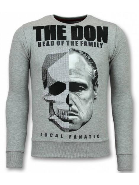 Local Fanatic Godfather trui godfather sweater 11-6294G large