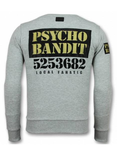 Local Fanatic Bad dog trui cartoon sweater 11-6308G large
