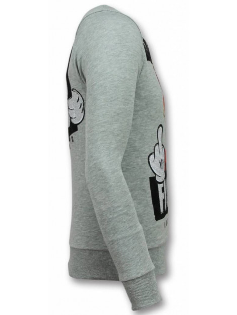 Local Fanatic Mario trui fight club sweater 11-6298G large
