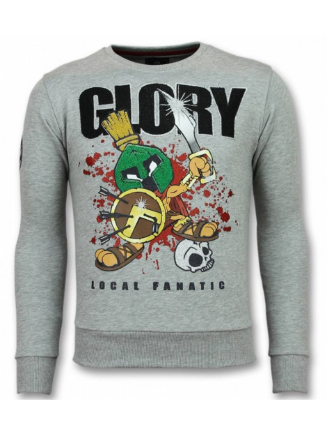 Local Fanatic Glory trui marvin spartacus sweater 11-6302G large