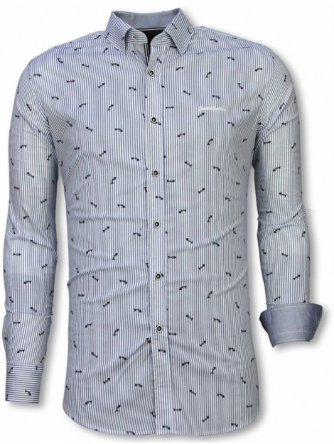 Tony Backer E overhemden slim fit 2054W large