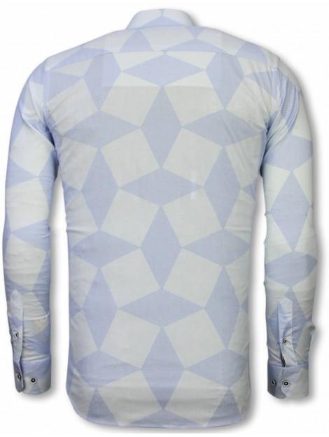 Tony Backer E overhemden slim fit 2046W large