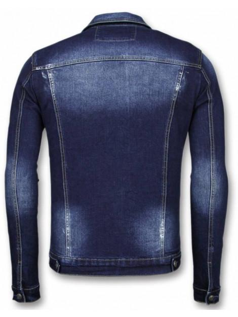 True Rise Spijkerjasje stone wash spijkerjasje denim jacket BC-2112B large