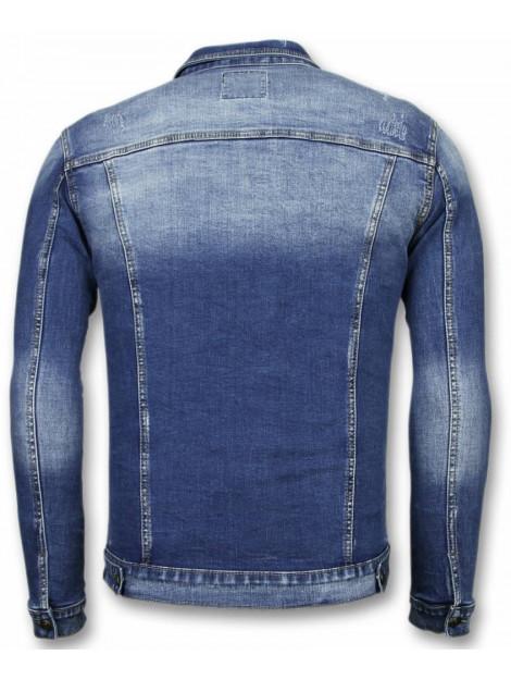 True Rise Spijkerjasje stone wash spijkerjasje denim jacket BC-2138B large