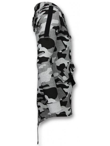 Enos Casual vest long fit camouflage vest FF-7020G large
