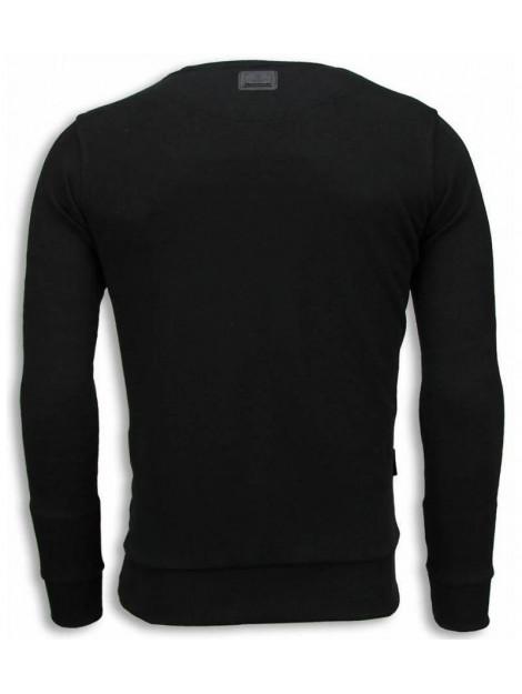 Local Fanatic Bob marley digital rhinestone sweater 13-6240 large