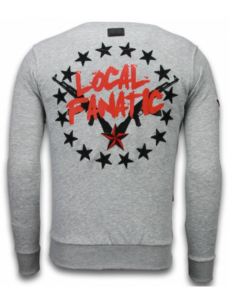 Local Fanatic Bad boys rhinestone sweater 5918G large