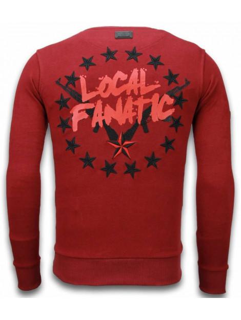 Local Fanatic Bad boys rhinestone sweater 5918B large